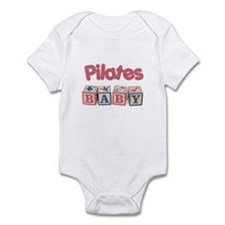 Pilates Baby #1 Infant Bodysuit
