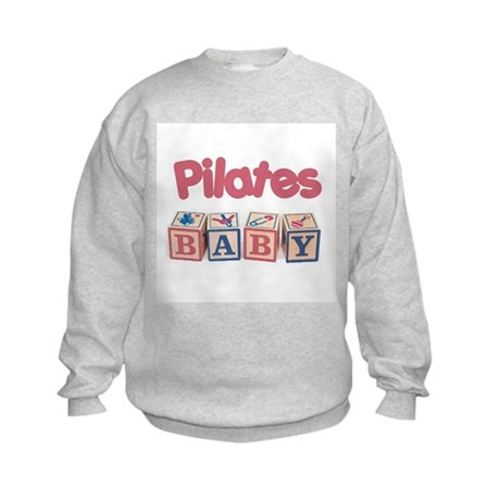 Pilates Baby #1 Kids Sweatshirt