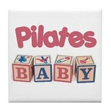 Pilates Baby #1 Tile Coaster