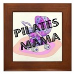 Pilates Mama Framed Tile