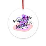 Pilates Mama Ornament (Round)
