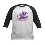 Pilates Mama Kids Baseball Jersey