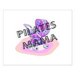 Pilates Mama Small Poster