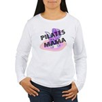 Pilates Mama Women's Long Sleeve T-Shirt