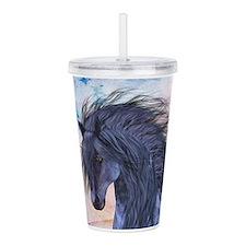 Blue Unicorn 3 Acrylic Double-wall Tumbler