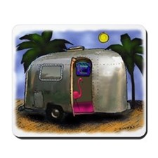AIRSTREAM TYPE..FLAMINGO Mousepad