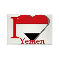 I love Yemen Rectangle Magnet