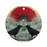 """Poppy Sunrise""  Ornament (Round)"