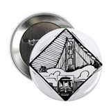 "San Fransisco Design 2.25"" Button (10 pack)"