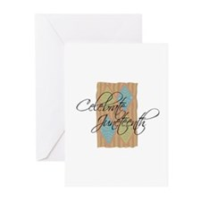 Celebrate Juneteenth - Black Greeting Cards (Pack