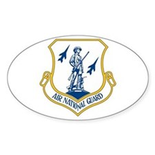 US Air National Guard Seal Oval Decal