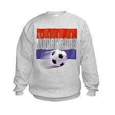 Soccer Flag Nederlands Sweatshirt