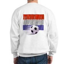 Soccer Flag Nederlands (B) Sweatshirt