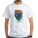Cat breed? Blue Persian -art White T-Shirt