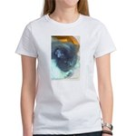 Long-Haired Blue Persian Cat Women's T-Shirt