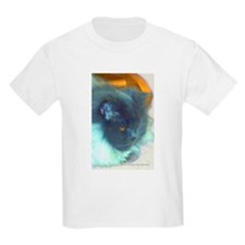 Blue Persian Cat Kids Light T-Shirt