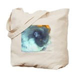 Cat lover's Blue Persian -art Tote Bag