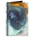 Long-Haired Blue Persian Cat Journal