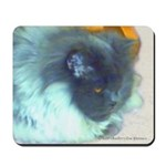 Cat lover's Blue Persian -art Mousepad