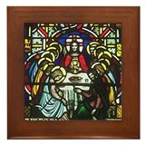 The Last Supper Framed Tile