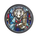 St Cecilia Wall Clock
