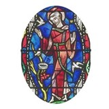 St Francis of Assisi Oval Ornament