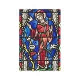 St Francis of Assisi Rectangle Magnet (10 pack)