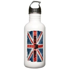 Rock Roll-British Flag Stainless Water Bottle 1.0l