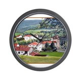 Basque Village Wall Clock