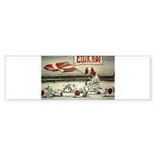 Euzkadi Bumper Car Sticker