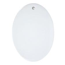 Poodle Bath Oval Ornament