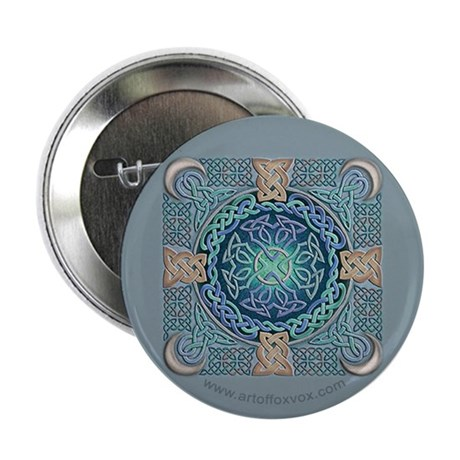 Celtic Eye of the World Button