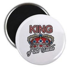 Father's Day King of the Castle Magnet