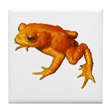 Golden Toad (Bufo Periglenes) Tile Coaster