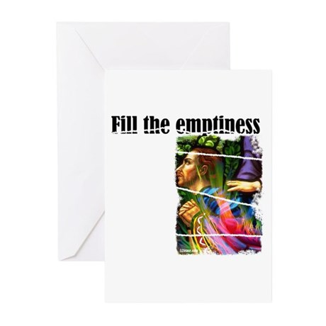 Fill the Emptiness Greeting Cards (Pk of 10)