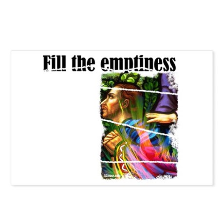 Fill the Emptiness Postcards (Package of 8)