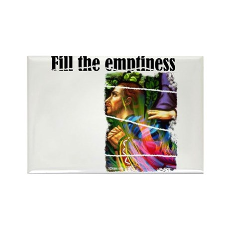 Fill the Emptiness Rectangle Magnet