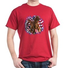 Irish Setter Patriotic T-Shirt