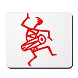 Drumming Petroglyph Mousepad