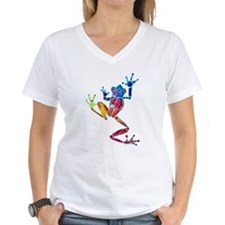 Whimsical Colors Tree Frog Shirt