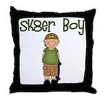 Skater Boy Throw Pillow