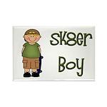 Skater Boy Rectangle Magnet (10 pack)