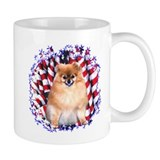 Pomeranian Patriotic  Tasse