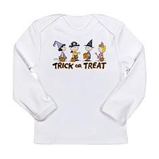 The Peanuts Gang: Trick Long Sleeve Infant T-Shirt