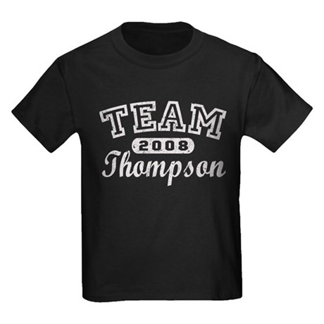 TEAM Thompson Kids Dark T-Shirt