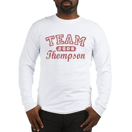 TEAM Thompson Long Sleeve T-Shirt