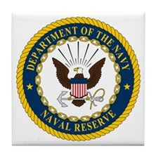 US Navy Reserve Tile Coaster