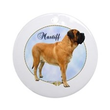 Mastiff(apr) Portrait Ornament (Round)