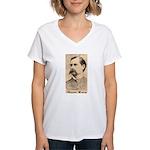 Wyatt Earp Women's V-Neck T-Shirt