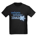 Twinkle Star Blue Kids Dark T-Shirt